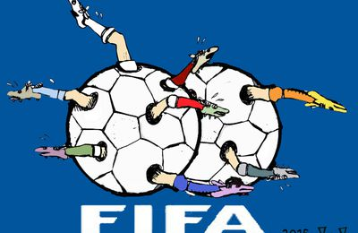 FIFA CORRUPTION: DESSINS DE PRESSE