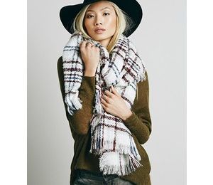 Inspiration - Plaid scarf
