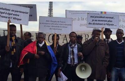 Manifestation de soutien au peuple tchadien à Paris