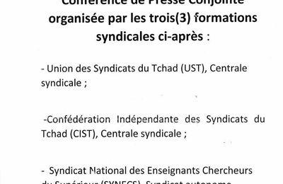 Lutte sociale au Tchad: le régime d'Idriss Deby harcèle par trois grosses structures syndicales