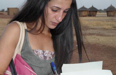 France: lettre de remerciements de la famille Lila Chouli