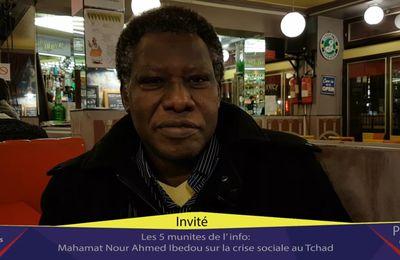 """Mahamat Nour Ahmed Ibedou """"La crise sociale est fabriquée par Idriss Deby"""""""