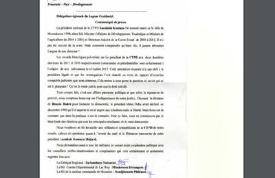 Affaire Laokein:  son parti rappelle à Idriss Deby ses promesse de 1990