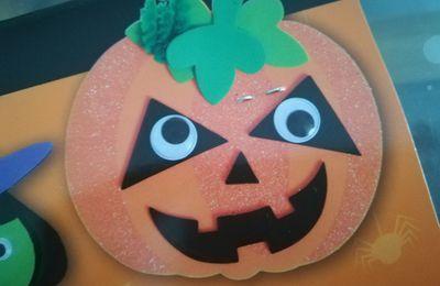1ère préparation d'Halloween