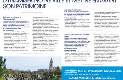 Le programme de Jean-Philippe MACHON