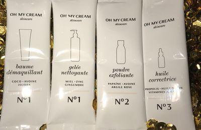 Beauty tip : la nouvelle routine beauté signée oh my cream