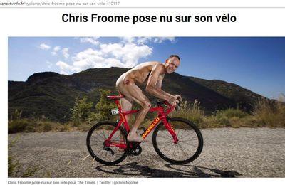 Chris Froome un cycliste au poil