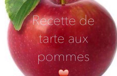 Tarte aux pommes (la meilleure :p)