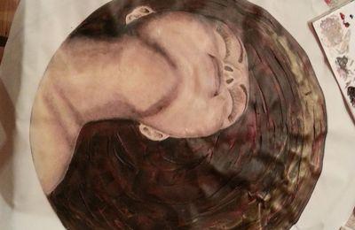 Femme chauve