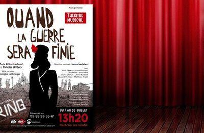 #Musical - QUAND LA GUERRE SERA FINIE, de Marie-Céline Lachaud