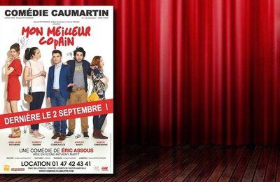#Théâtre - 'Mon Meilleur Copain', une comédie d'Eric Assous