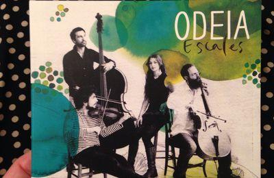"""Création de la pochette du disque""""Escale"""" du groupe Odeia."""