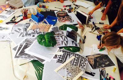 Atelier au Musée du Quai Branly // juillet