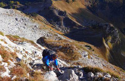Arcalod : toit des Bauges à 2217m