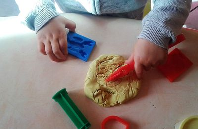 Activité pâte à modeler