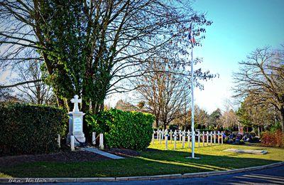 Reims - le carré militaire du cimetière de l'Ouest