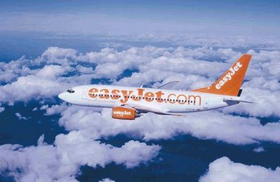 "Vols ""low cost""  Paris - Tel Aviv par Easy Jet."
