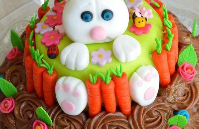 Gâteau Printemps Pâques - Easter Spring Cake