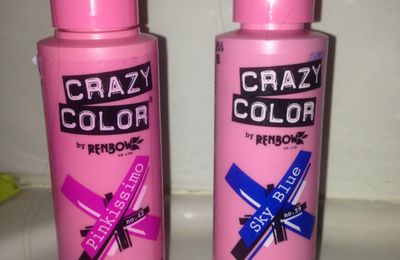 Soyez Crazy.... Color!