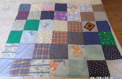 couverture en tissu