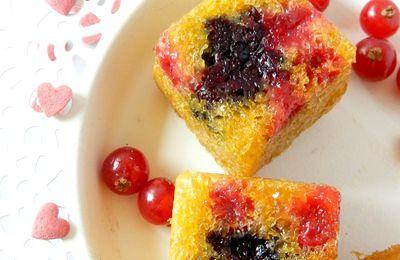 Bouchées aux fruits rouges