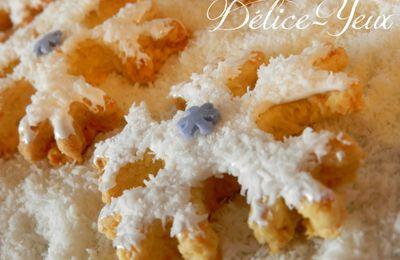 Les Sablés Flocons Coco - Chamallow