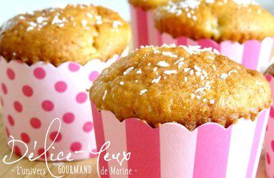 Muffins Banane & Coco