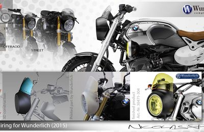 Wunderlich VINTAGE Headlight Fairing for NineT BMW