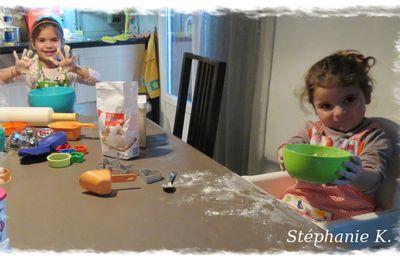 Atelier pâte à sel avec Tupperware !!!