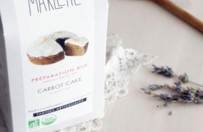 Carrot Cake de chez Marlette, véganisé par Titenoonette
