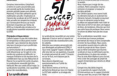 51 eme CONGRES: Numéro 2