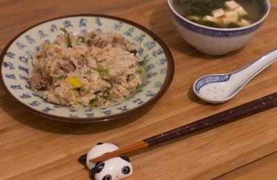 Recette de riz prête en deux minutes top chrono et sans vaisselle !!
