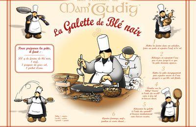 Le Week-end, c'est recette de la Galette de blé noir...Humm