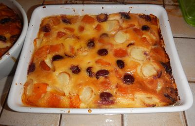 Clafoutis multifruits (Femina) photo perso + traduction en allemand