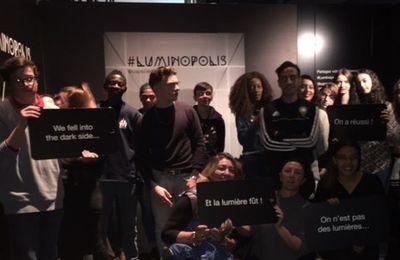 Exposition LUMINOPOLIS à CAP Sciences