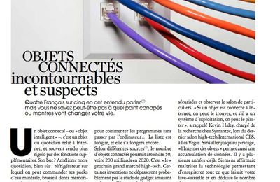 OBJECTS CONNECTÉS, incontournables et suspects / Marie Claire