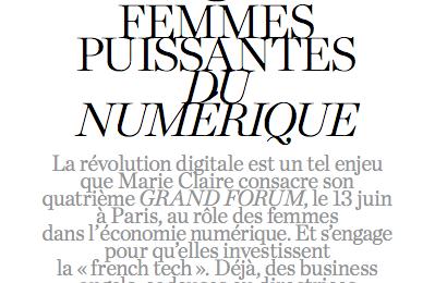 6 femmes puissantes du numérique, Marie Claire