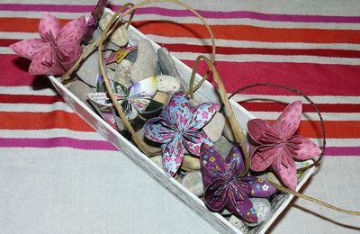Tuto Fleurs en origami
