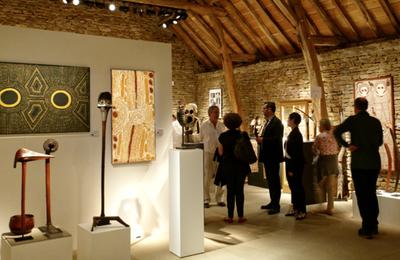 L'art aborigène au Bourgogne Tribal Show du 25-28 mai 2017, Besanceuil