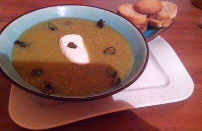 La soupe aux poireaux de ma mamie.
