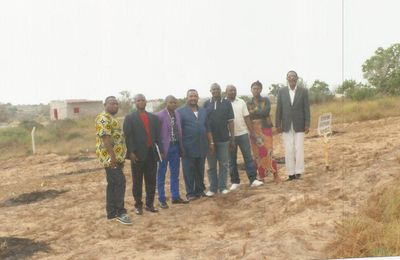 Construction de l'Eglise Orthodoxe d'Europe en Angola