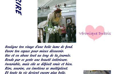 Sourire - Acrostiche - Véronique Dubois