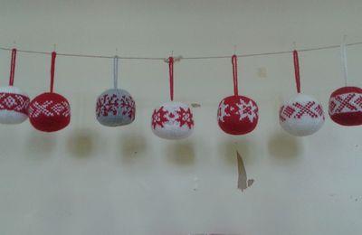 Boules de Noël.....