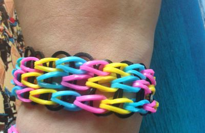 DIY Rainbow Loom #2