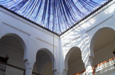 Plafonds décorés... au Maroc