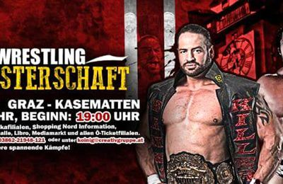 Catch Wrestling Weltmeisterschaft am 12.9.2015 Graz-Kasematten