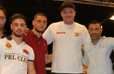 """Not in God's Name – """"Fight"""" against radicalism - Foad Sadeghi meets Tyson Fury"""