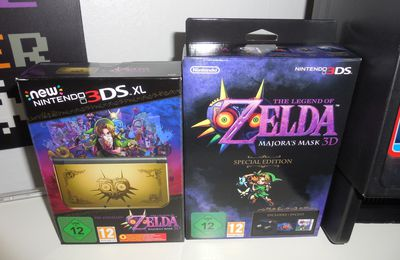 [Collection] Console New 3DS XL Majora's Mask