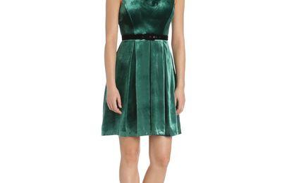 Eva Franco Shiny Thana Dress, Midnight Color