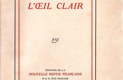 L OEIL CLAIR